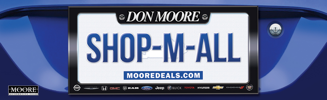 "Don Moore Outdoor Billboard - ""Shop-M-All"""