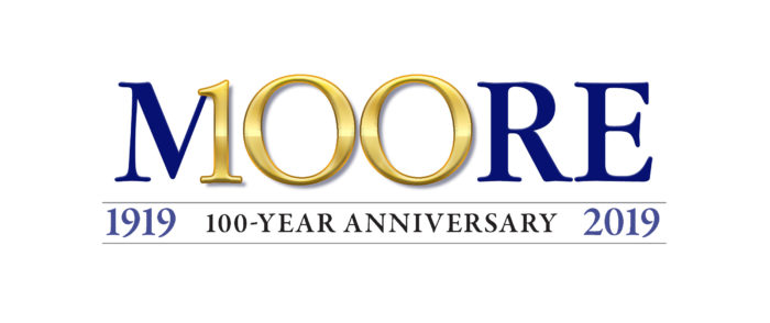 Don Moore 100th logo